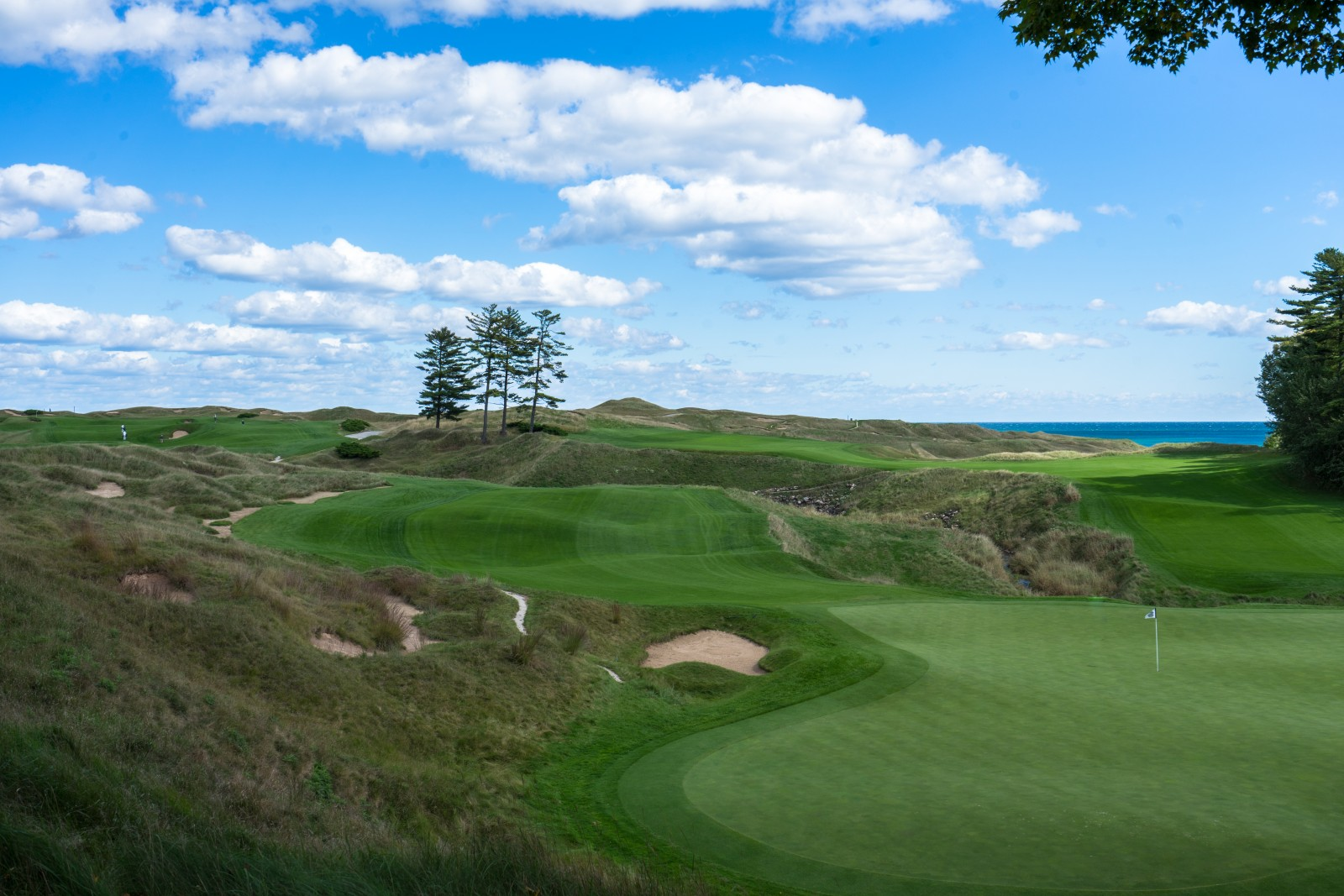 Whistling Straits, Wisconsin, Loch 10