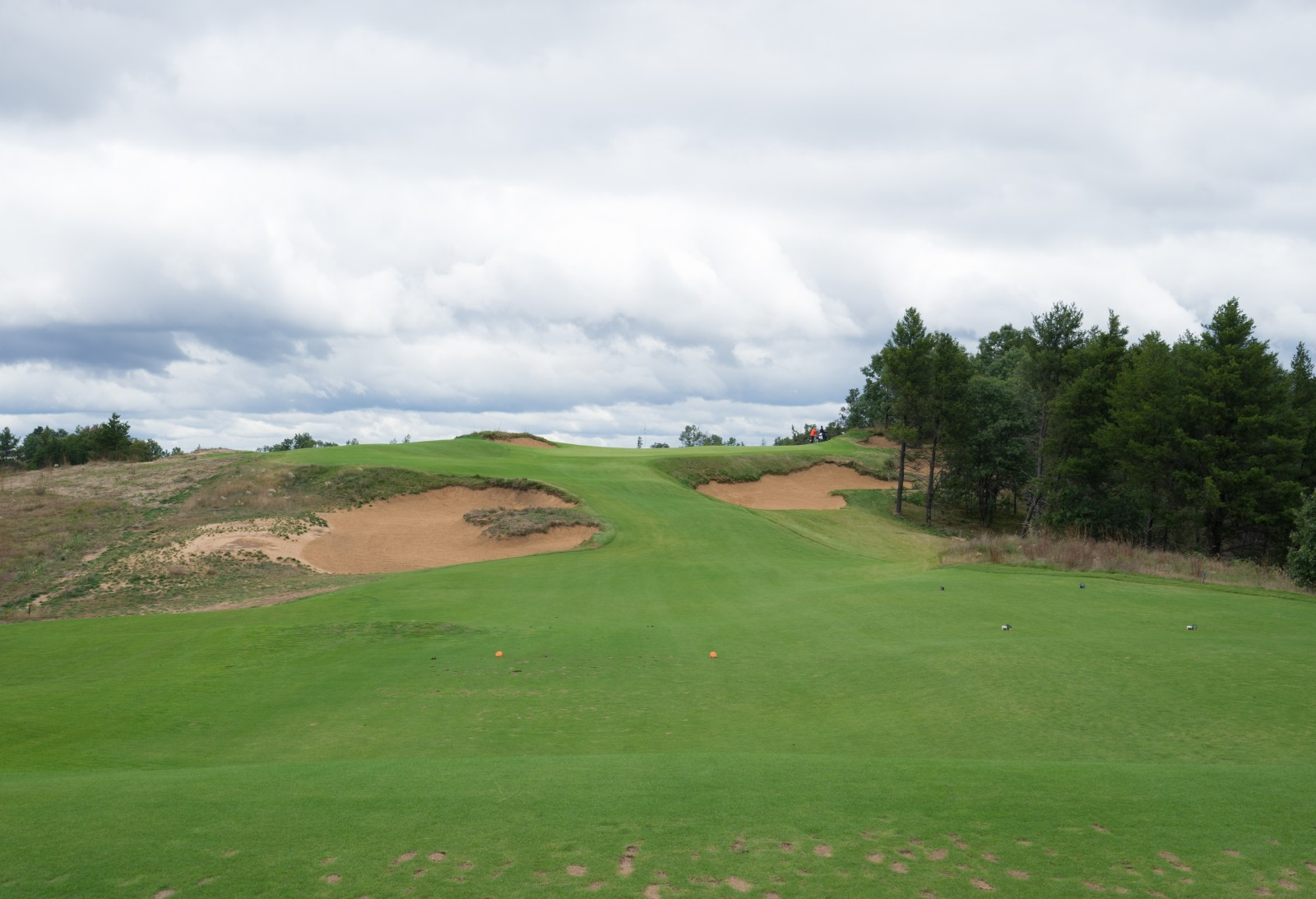 Sand Valley - Skyline Green an der 8