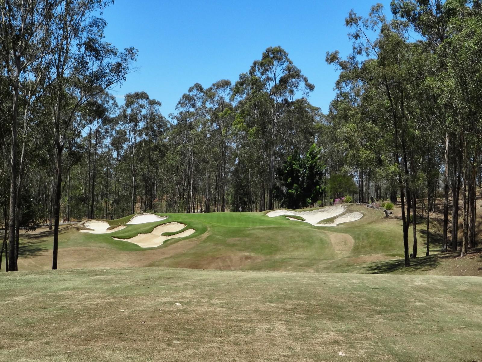 Brookwater Golf Club, das Grün der 3
