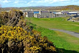 Ardglass Castle: es gibt schlechtere Clubhäuser als im Ardglass Golf Club