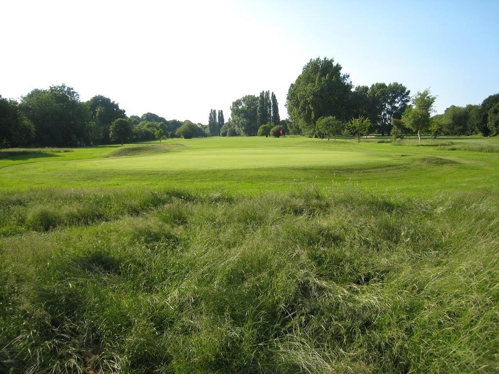 Loch 8 des Datchet Golf Club