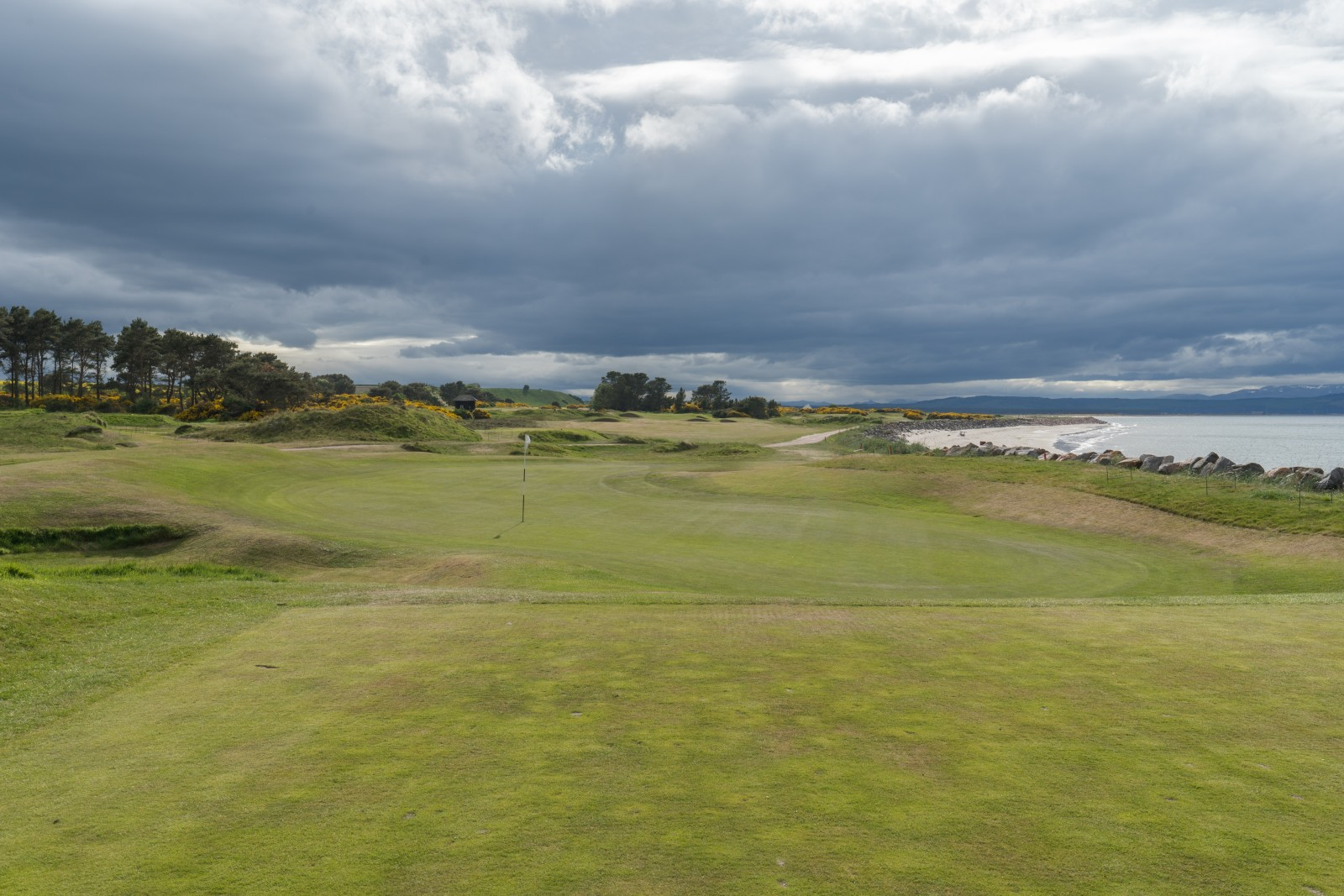 Nairn Golf Grün 4