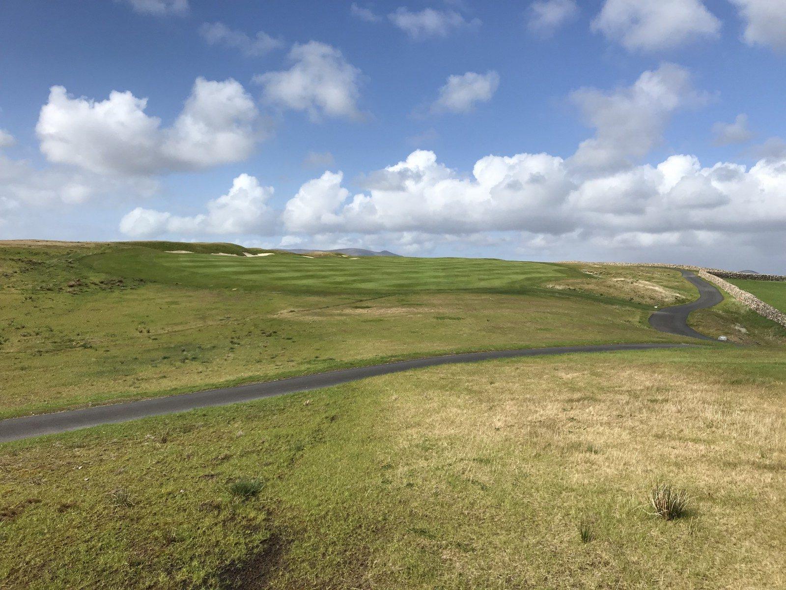 Hogs Head - Fairway wohin man blickt auf Loch 14