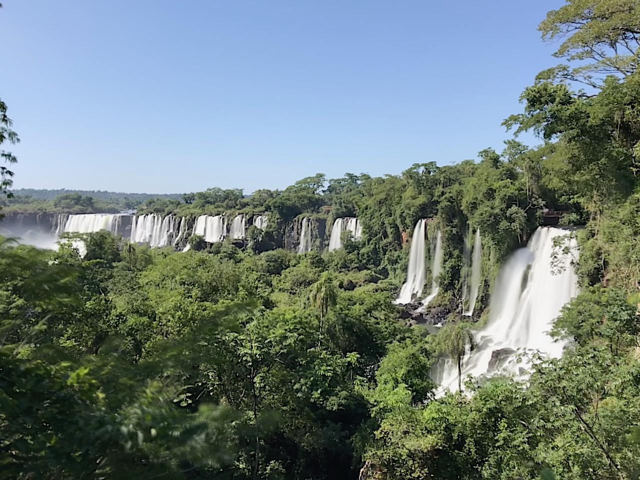 Ein Teil der argentinischen Wasserfälle