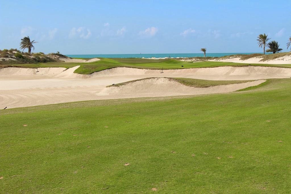 Golf am Meer