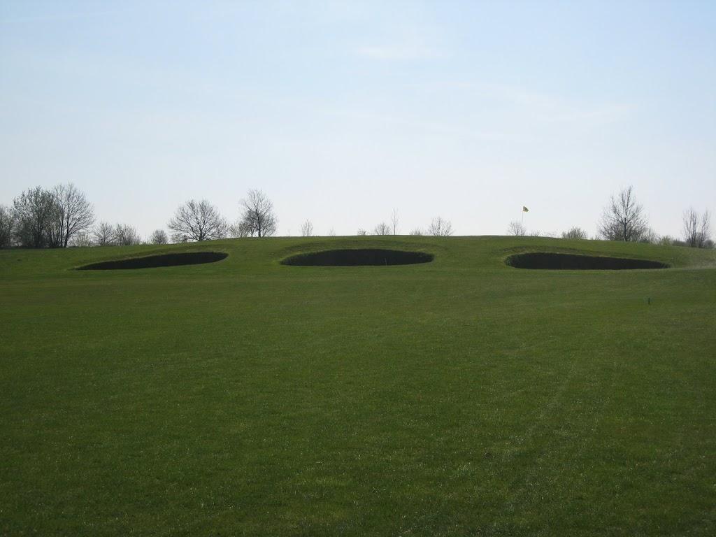Blick auf das Grün Loch 9