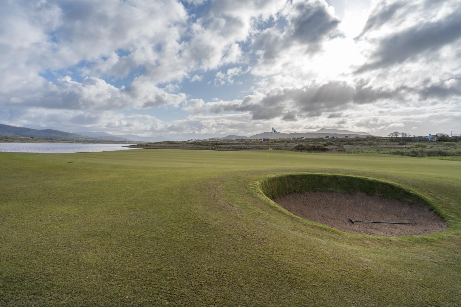 Loch 2 des Waterville Golf Links wurde von Christy O'Connor zu einem der Besten Irlands gekürt