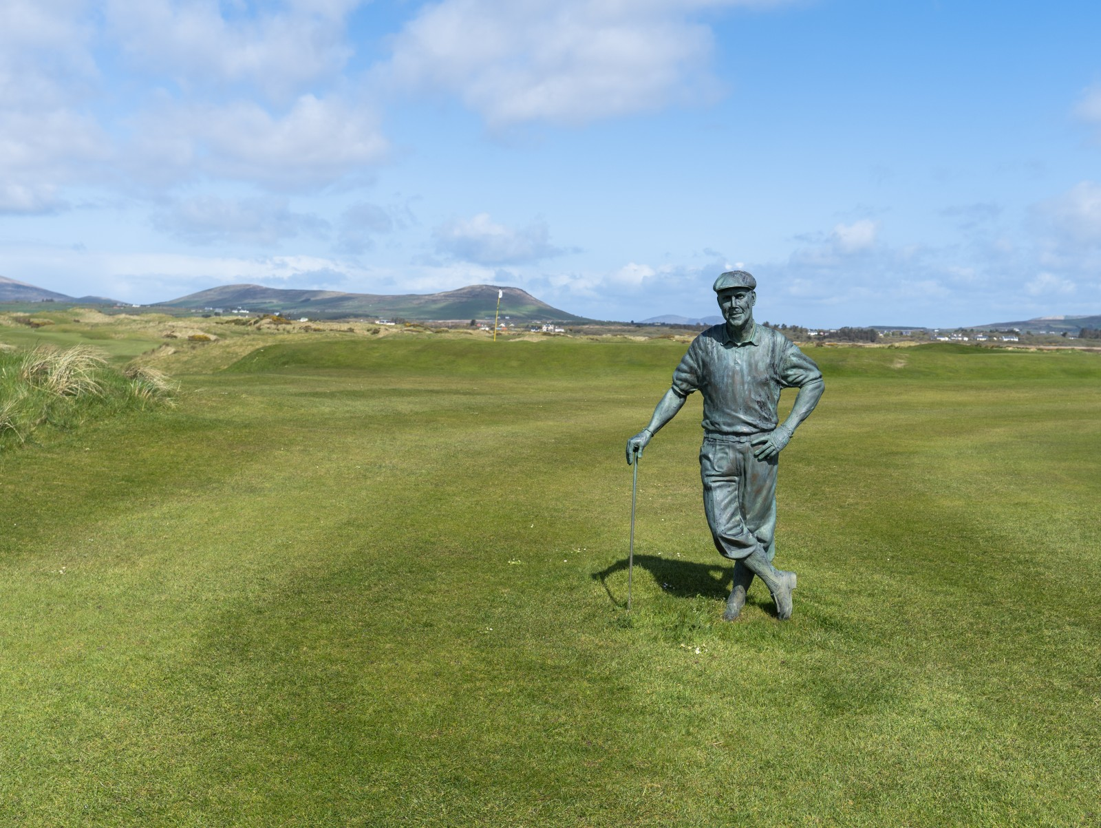 Erinnerung an Payne Stewart im Waterville Golf Links