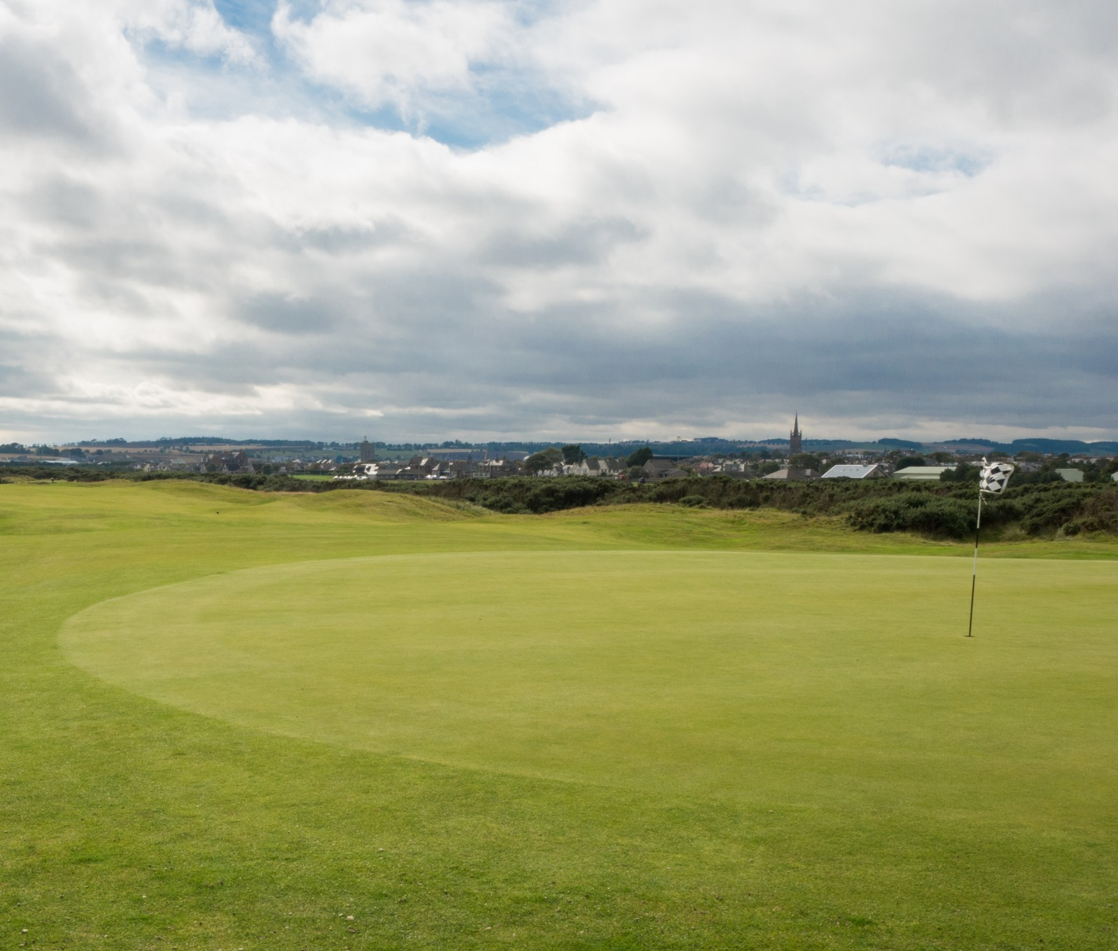 Montrose Golf Links, Grün 5