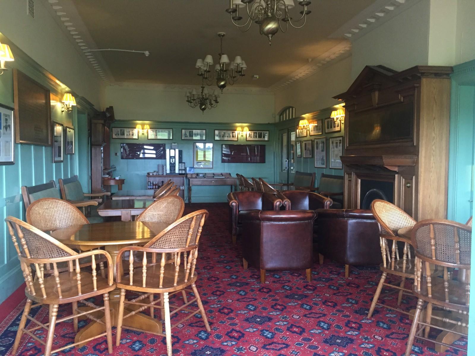 Seit 1906 fast unverändert: Das Innere des Clubhauses