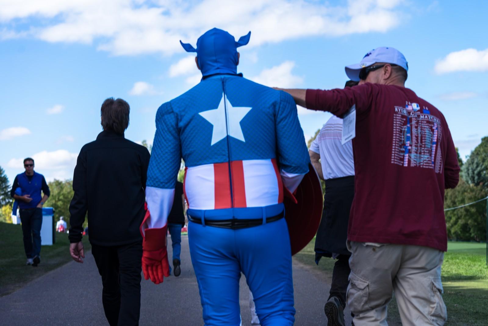Captain America ist aus dem Leim gegangen