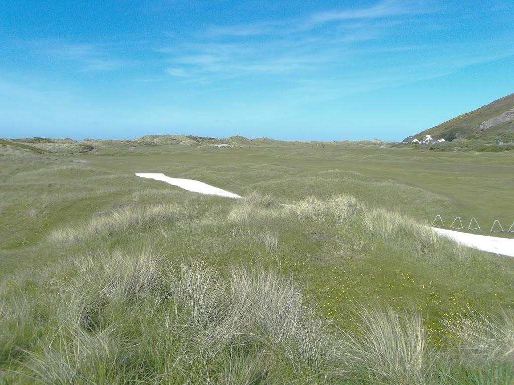 Blick vom Tee Loch 1