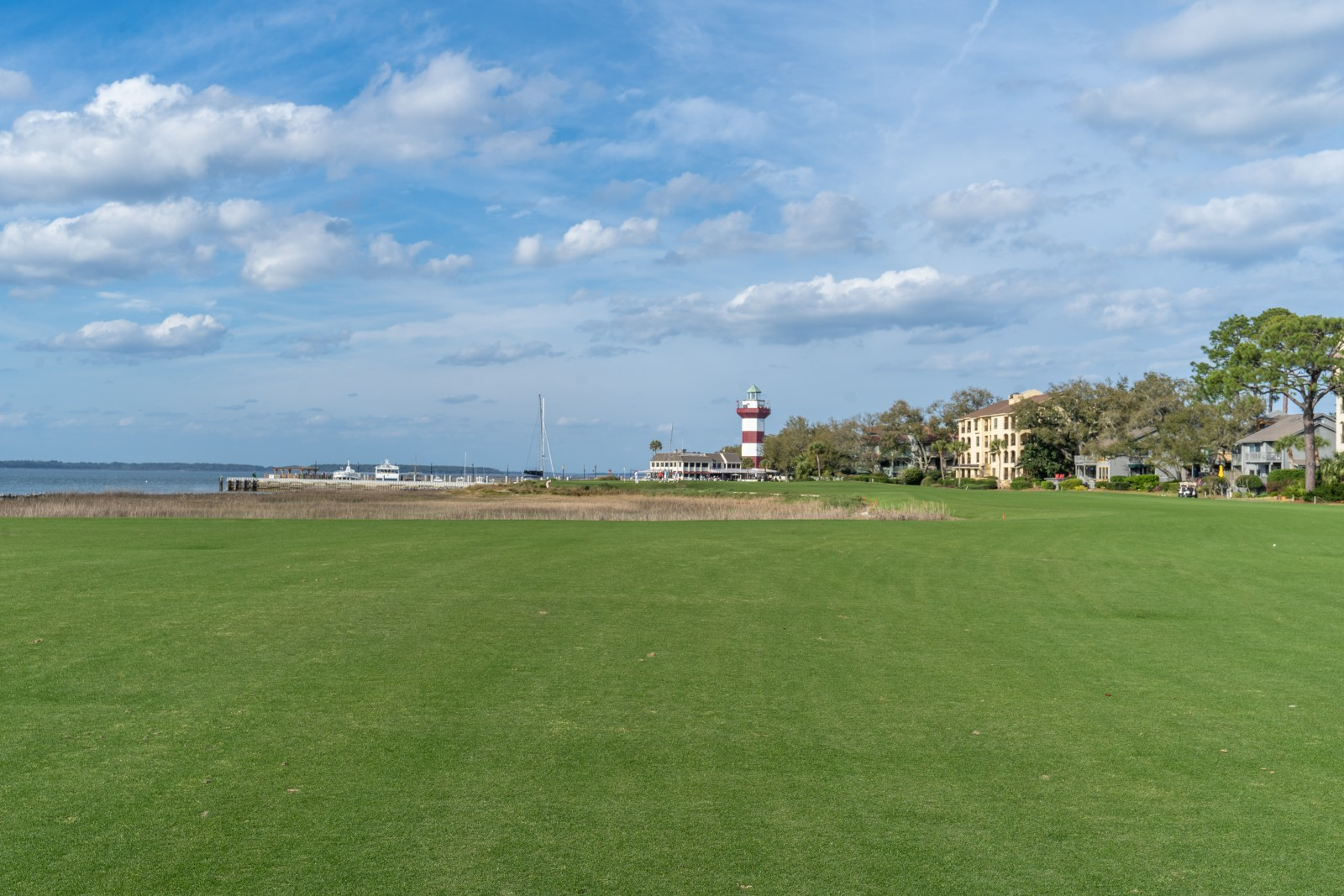Die 18 im Harbour Town Golf Links