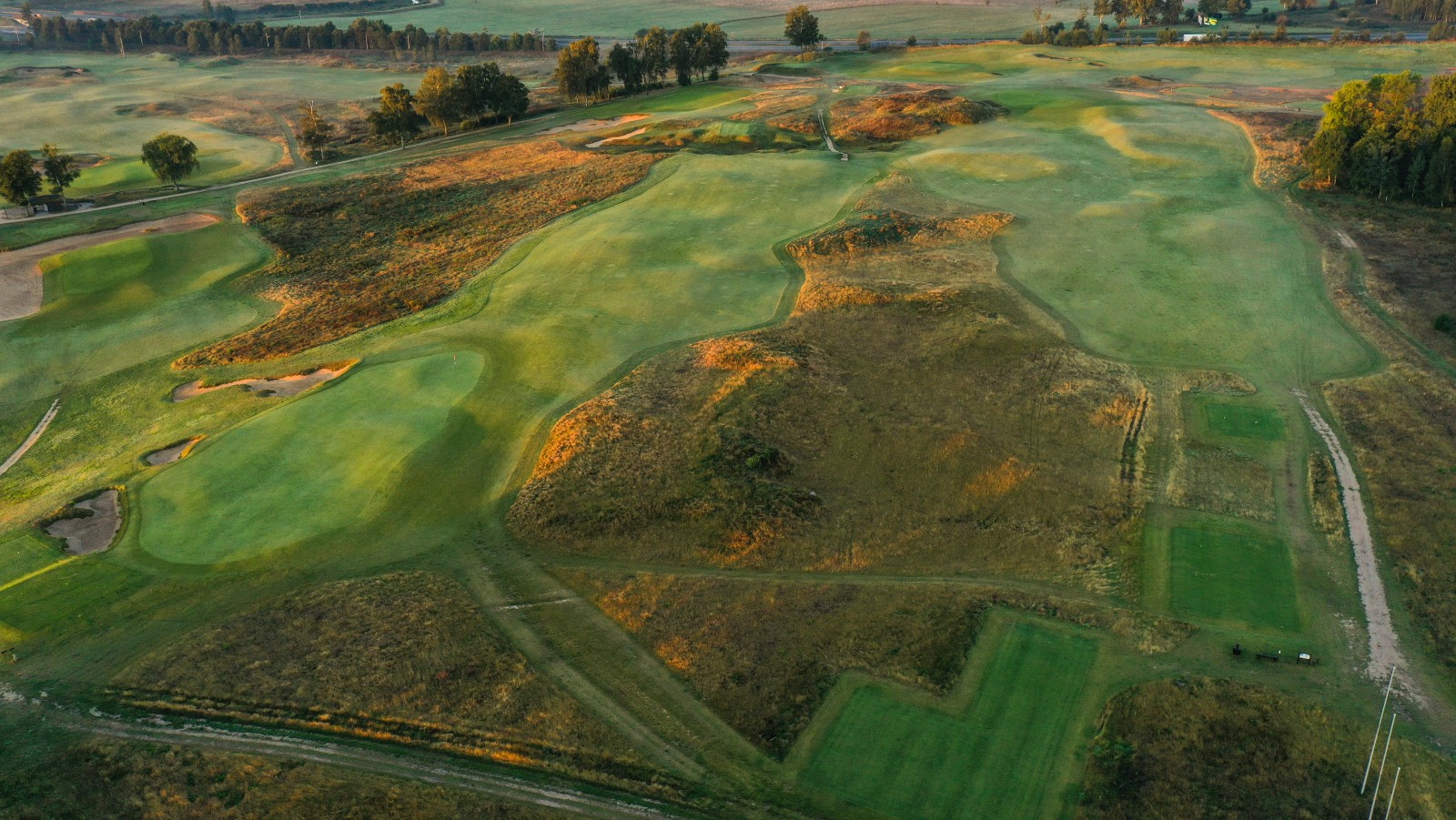 Sand Valley Golf Resort Loch 1 und 18